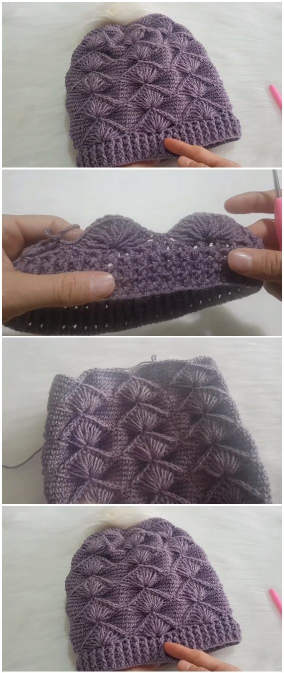 Crochet Beautiful Easy Beanie Hat