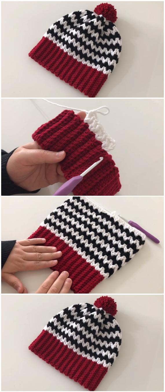Crochet Easiest Beautiful Beanie Hat