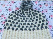 Easy Beanie Hat With Pom Pom