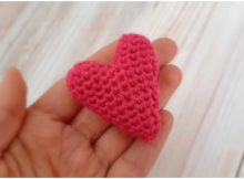 Easy Heart Amigurumi