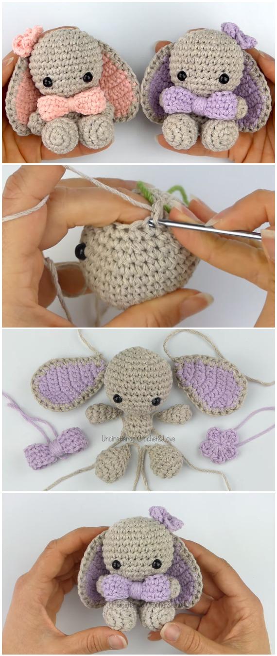 Crochet Easy Bunny Amigurumi