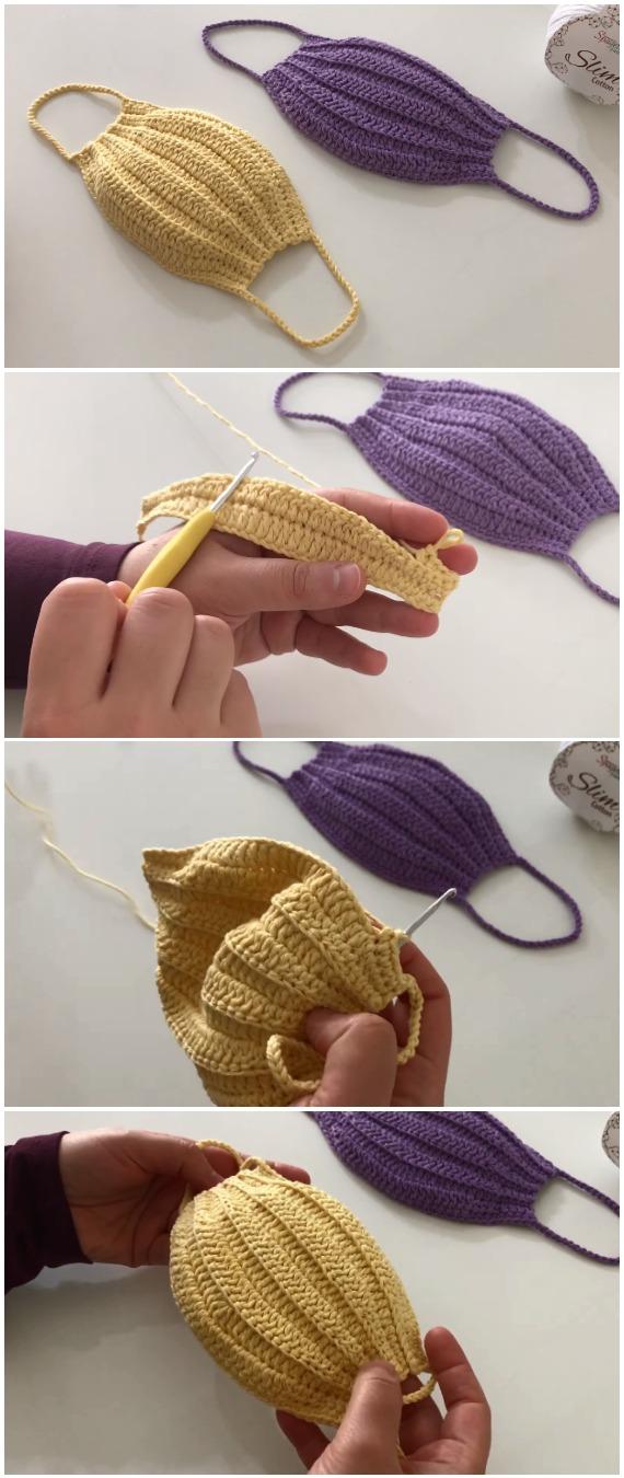 Learn To Crochet Easy Mask
