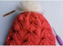 Beautiful Pom Pom Hat