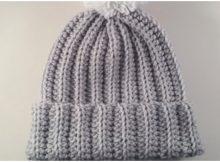 Beautiful Ribbed Hat
