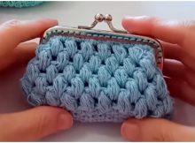 Easy Purse Puff Stitch