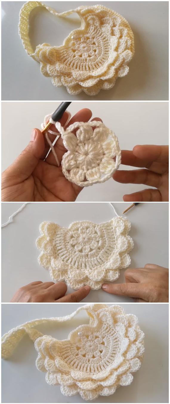 Crochet Amazing Handbag For Ladies