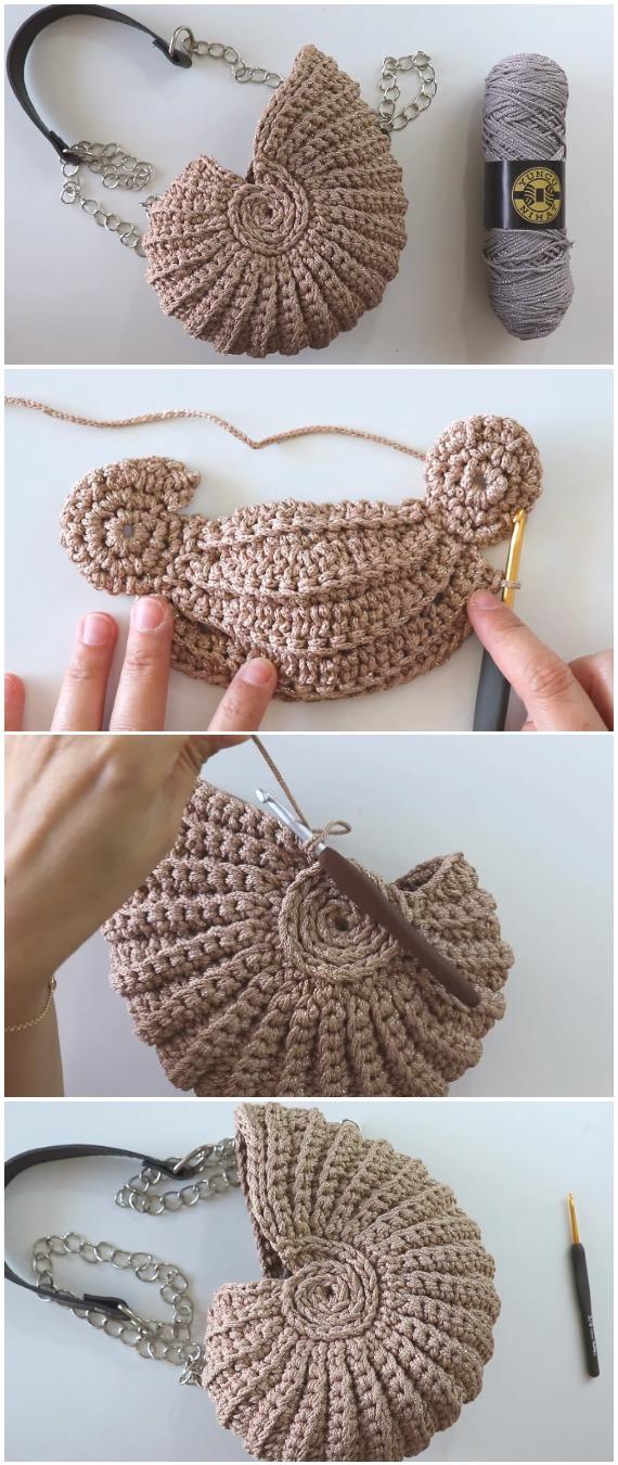 Crochet Amazing Seashell Basket