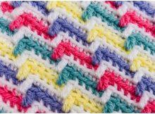 Crochet Apache Tears Stitch