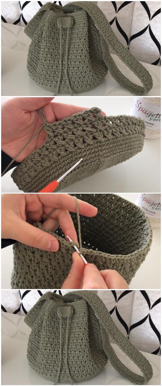 Crochet Easy Summer Bag