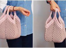 Easy Granny Square Bag