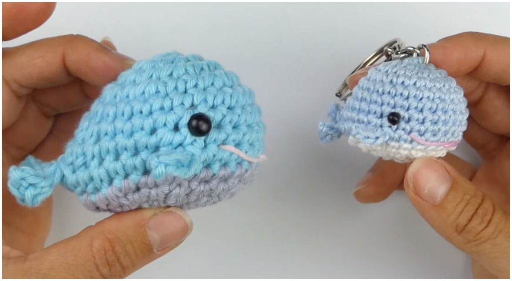 Blue Whale and Narwhal amigurumi patterns - Amigurumi Today | 560x1020