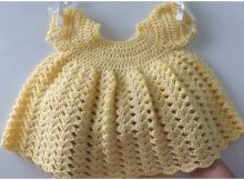 Crochet Princess Baby Dress