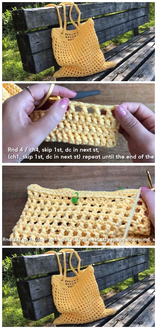 Crochet Summer Net Bag