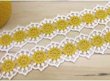 Daisies Ribbon Lace Cord