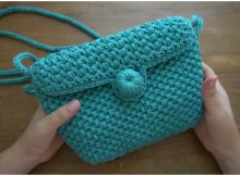 Easy Handbag Spike Stitch