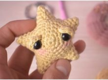 Sleeping Star Amigurumi