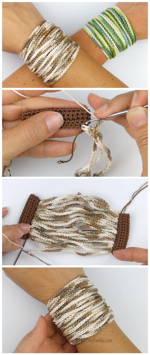 Crochet Easy Band Bracelet