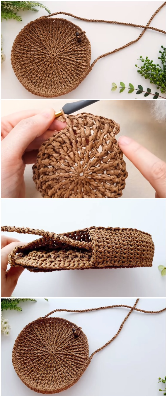 Crochet Easy Cross Bag