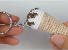 Easy Ice Cream Keychain