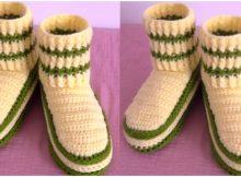 Easy Slippers Elastic Stitch