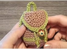 Easy Backpack Purse Keychain