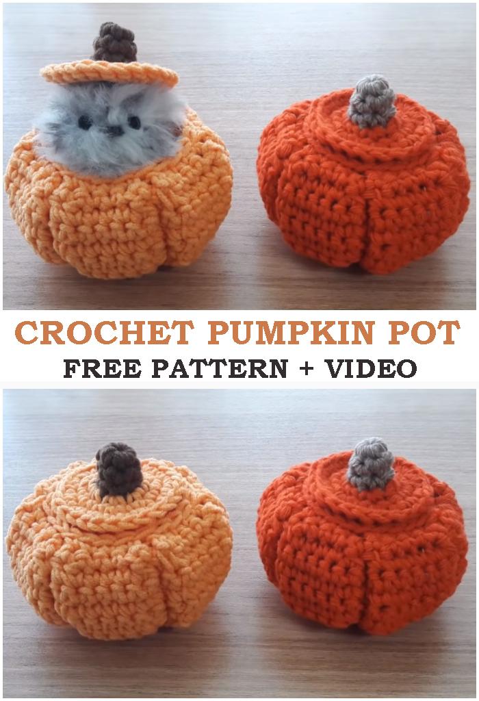 Pumpkin Pot Halloween Decorations
