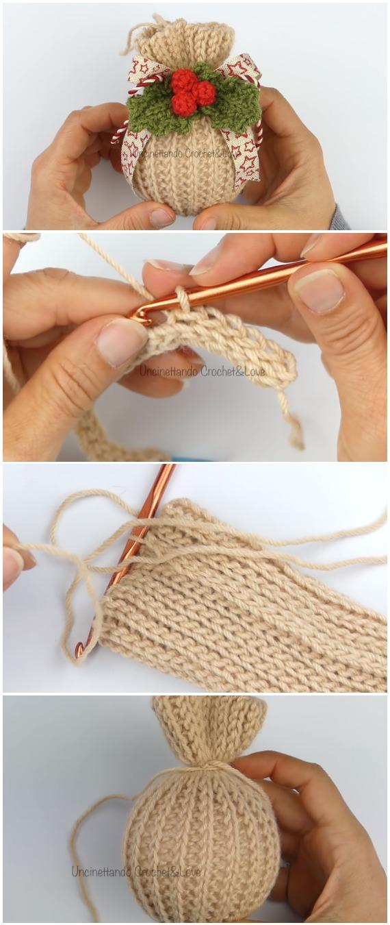 Crochet Easy Christmas Ball