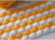 Beautiful Two Color Baby Blanket