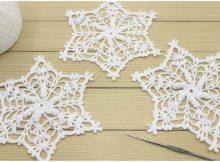 Crochet Snowflake Motif