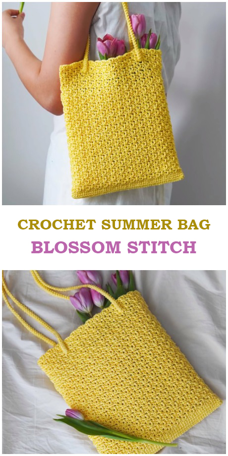 Summer Bag Blossom Stitch