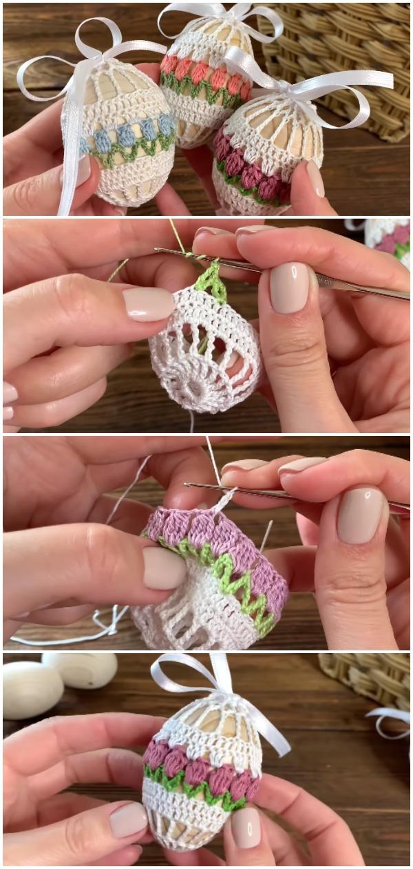 Crochet Easy Easter Egg Cover