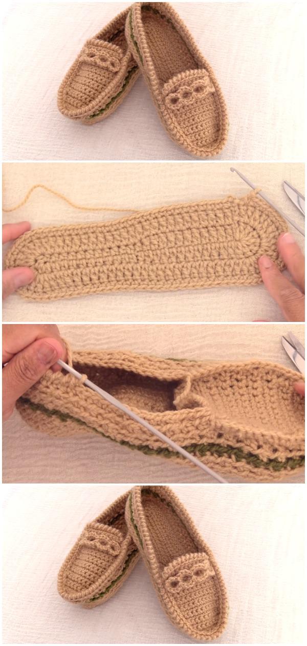 Crochet Easy Beautiful Loafers