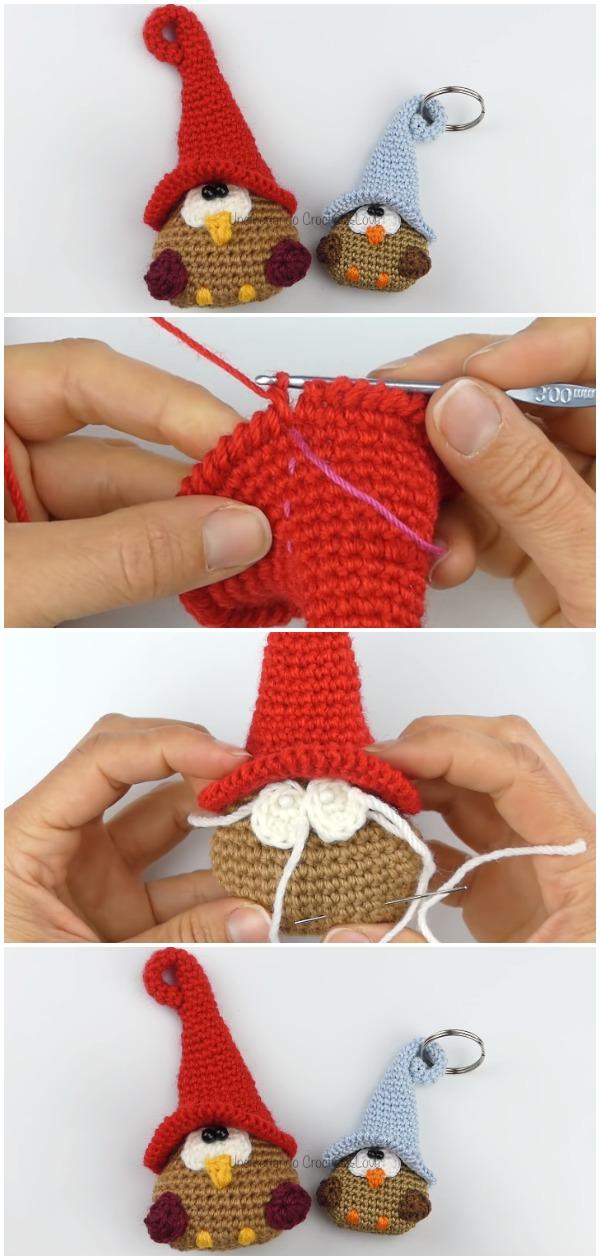 Crochet Easy Owl Amigurumi