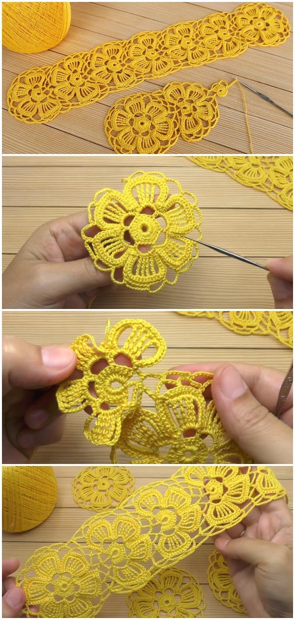 Crochet Easy Motif Cord