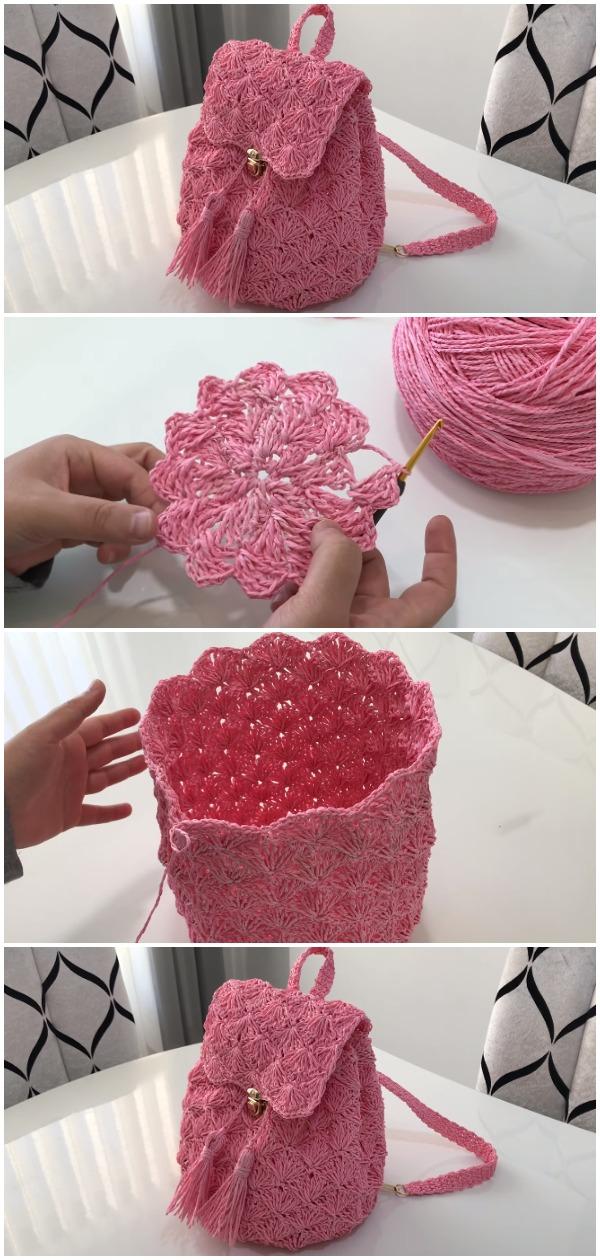 Crochet Easy Summer Backpack