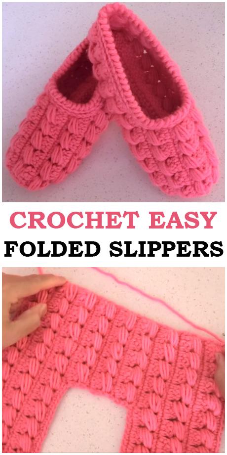 Easy Adult Folded Slippers