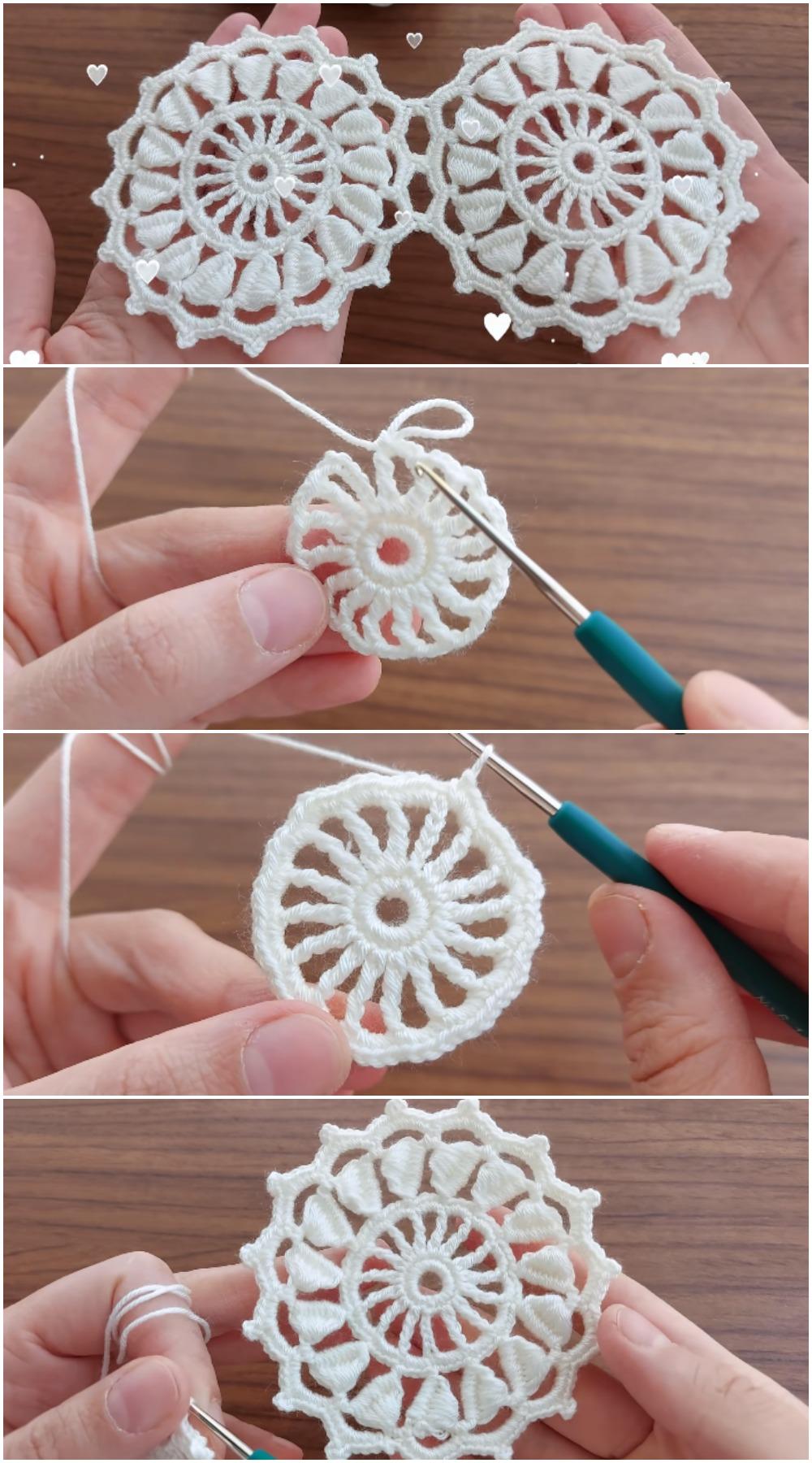 Crochet Easy Motifs Blanket