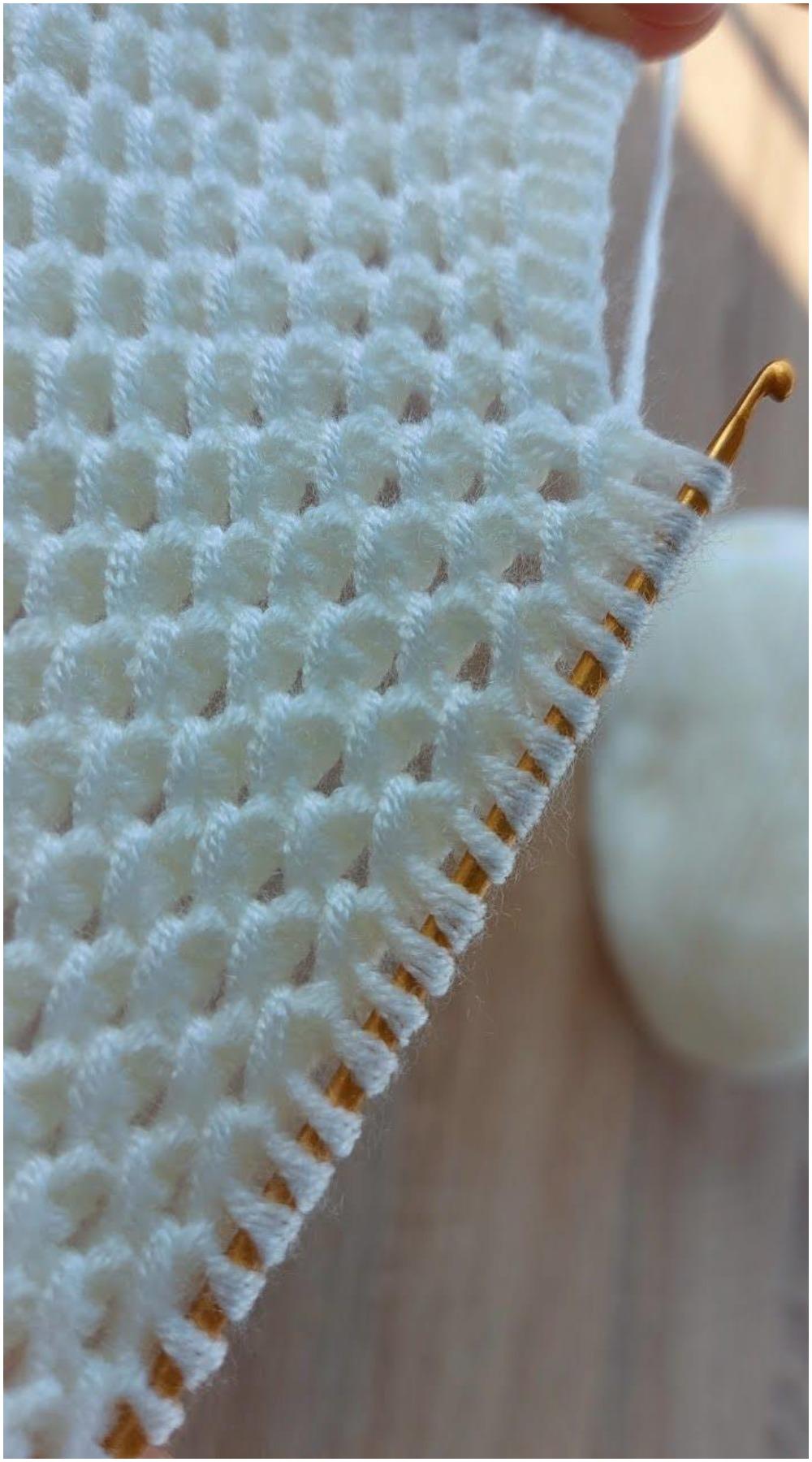 Crochet Tunisian Stitches