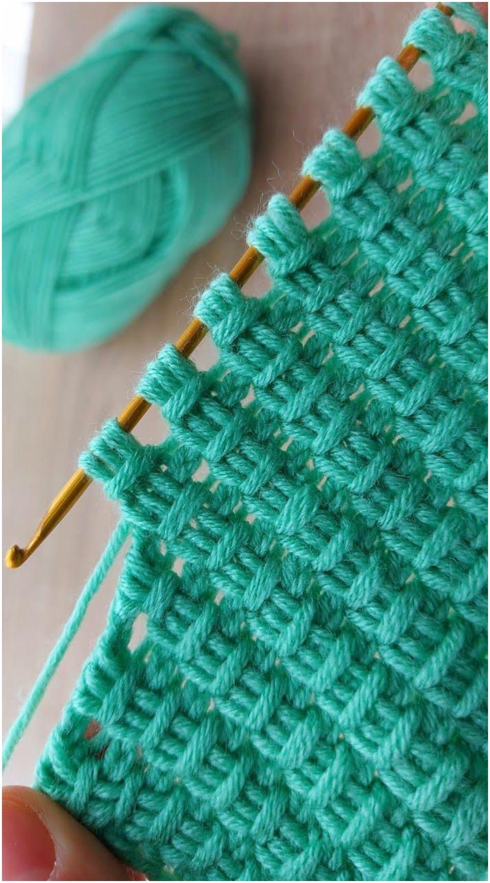 Learn To Crochet Tunisian Stitches